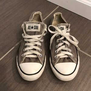Women's 8 / men's 6 grey Converse